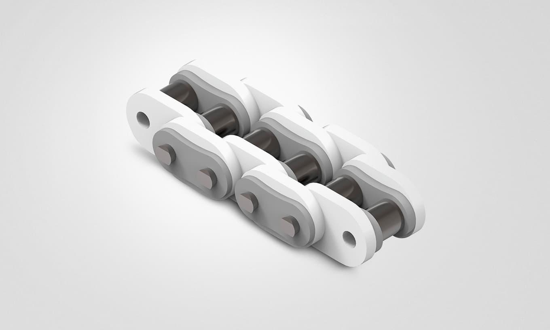 BNMC-Rollenketten (zusätzliche Kunststofflaschen)
